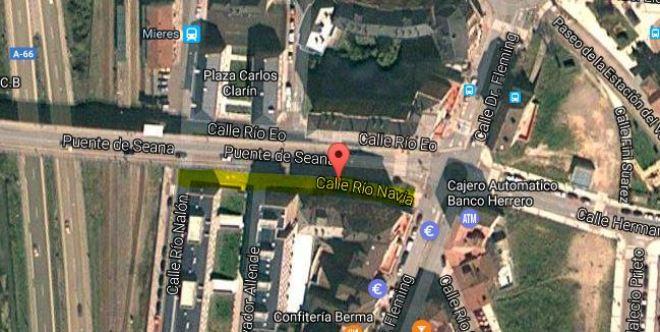 Calle Río Navia
