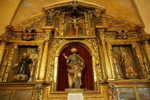 Retablo Altar Mayor Iglesia Parroquial de San Pedro