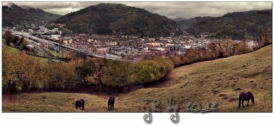 Panorámica zona norte de Mieres | José Ramón Viejo