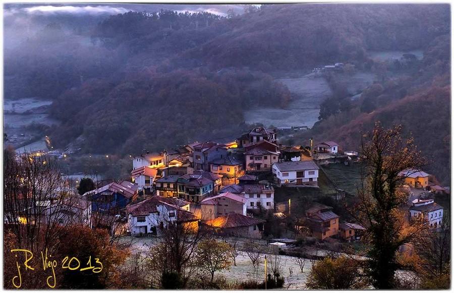 Amanecer invernal en Insierto | José Ramón Viejo