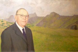 'Retrato de D. José Sela y Sela'(Alcalde de Mieres 1923-1930)   Autor: J. Mª. Fernández Peláez