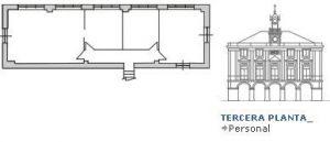 Tercera planta Casa Consistorial