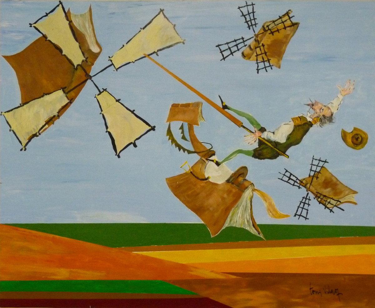 Aventura de los Molinos | Toni Vila (120cm x 100cm)