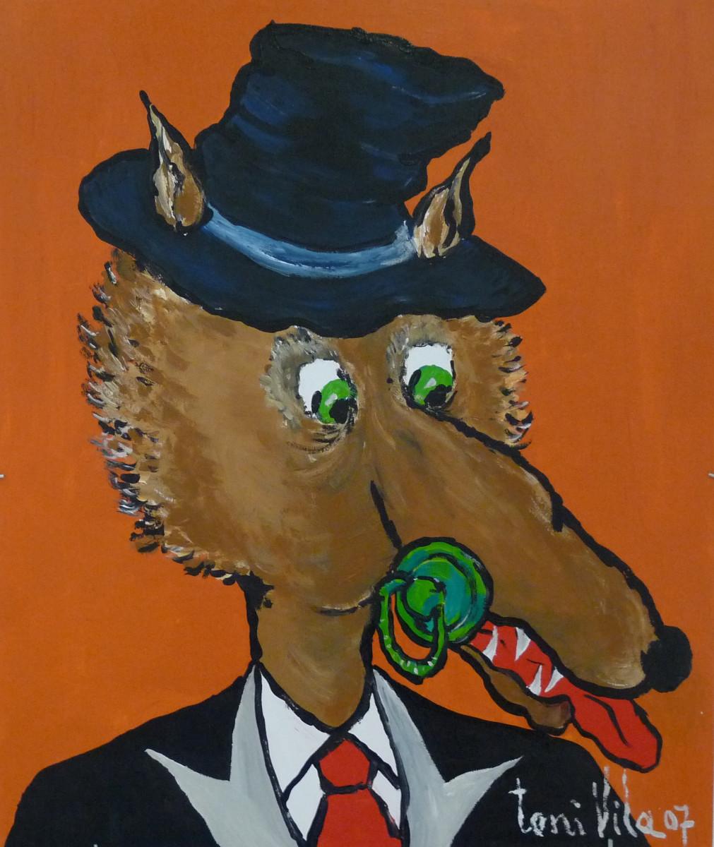 El Lobo | Toni Vila (40 cm x 60 cm)