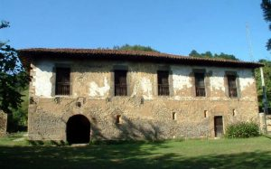 Lateral antes de la rehabilitación Palacio Bernardo de Miranda