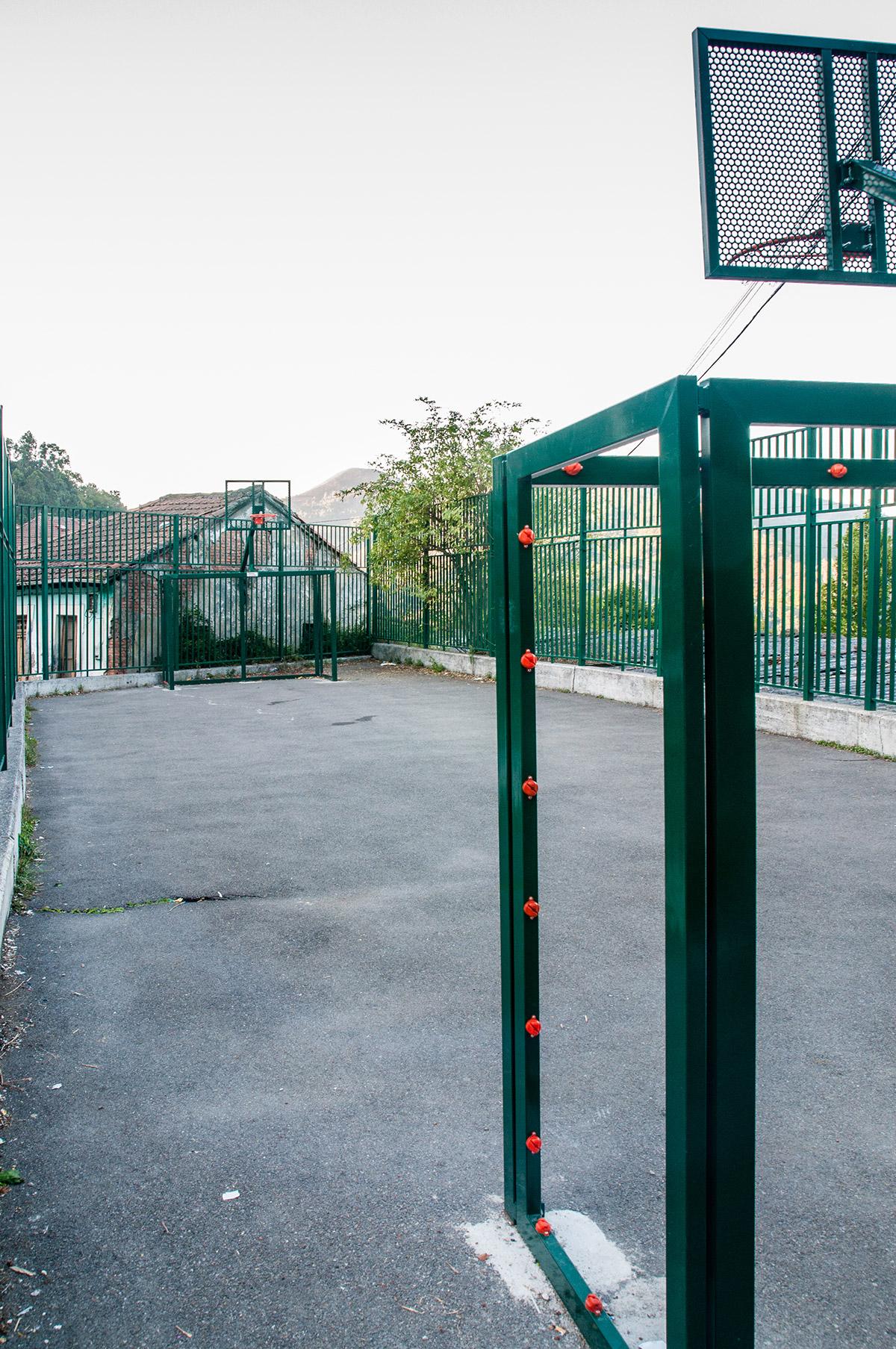 Siana | Cancha de fútbol y baloncesto | Autor: Jesús Blanco| AF Semeya