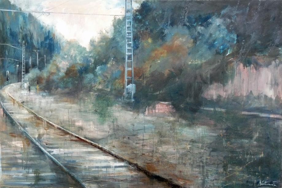 Autor: Martina Santamarte (Óleo sobre lienzo 0,60x0,0,90cm)