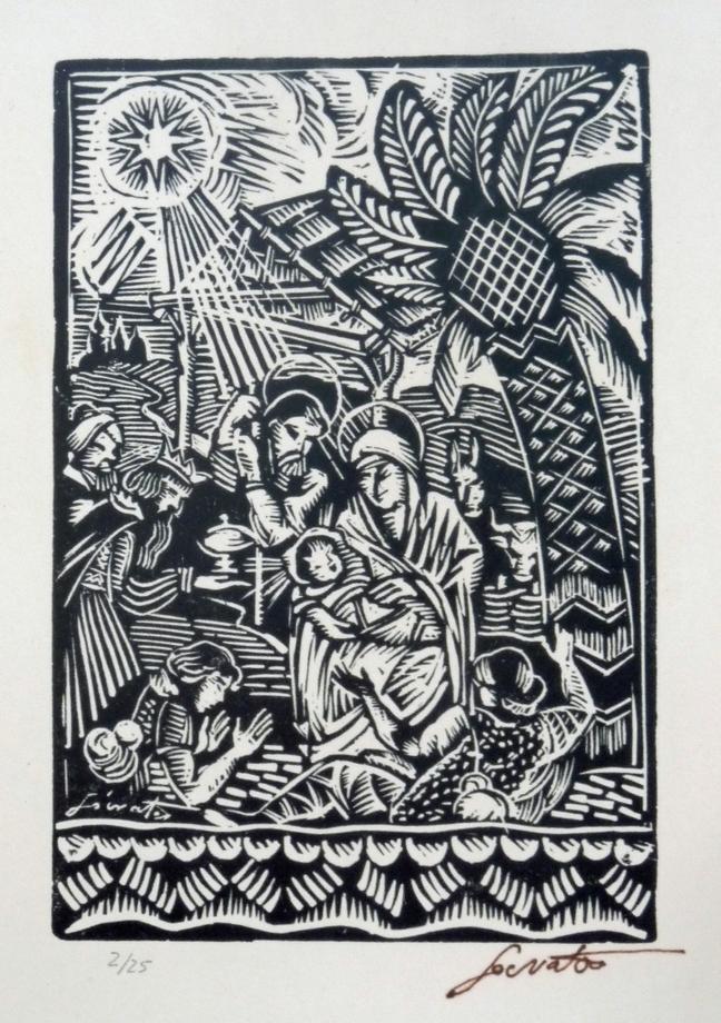 Autor: Sócrates Quintana (Xilografía 0,25x0,30)