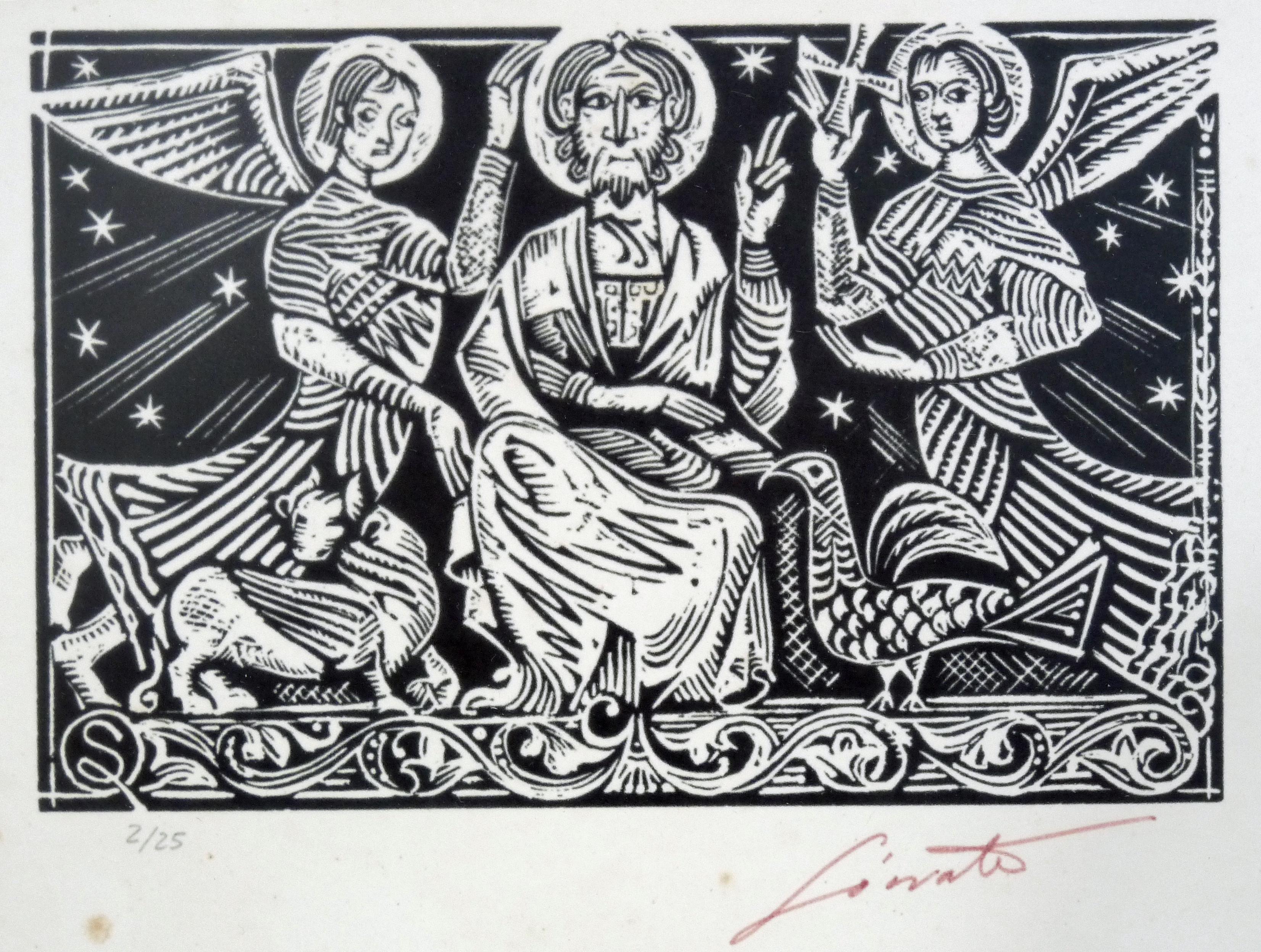 Autor: Sócrates Quintana (Xilografía 0,33x0,27)