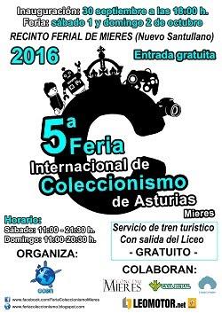 20161001-Cartel feria coleccionismo 2016