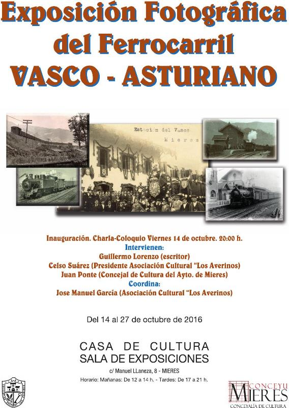 Cartel Expo Vasco Asturiano