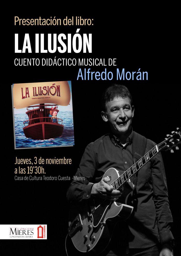 Cartel presentacion Alfredo Moran