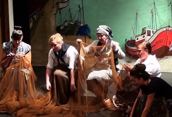 La marisquera Teatro Cruz Ceares