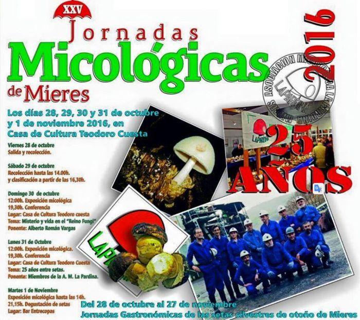 XXV Jornadas micologicas La Pardina