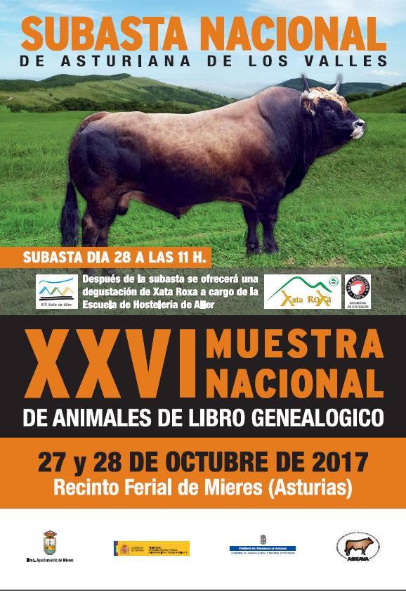 XXVI MUESTRA SUBASTA NACIONAL 2017