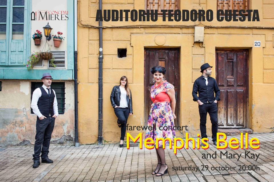 Memphis belle and mary kay maas en concierto conceyu - Grupo memphis ...