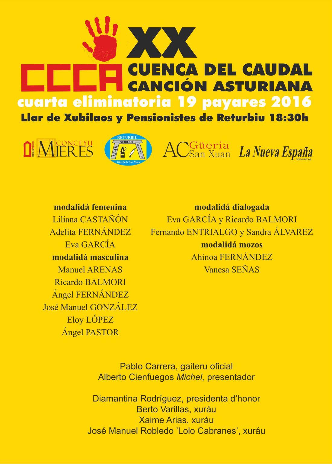 XX Concursu Cuenca del Caudal-Cuarta eliminatoria