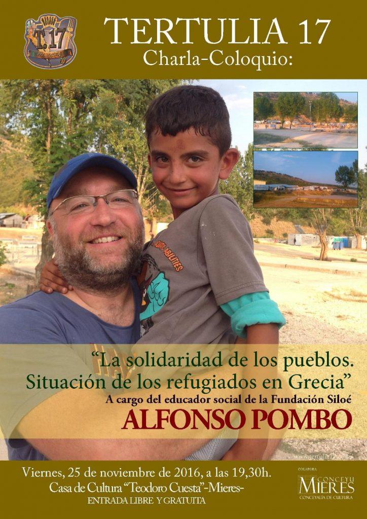 Cartel Tertulia 17-Alfonso PomboWEB