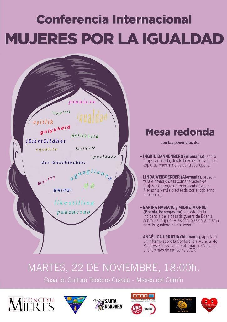 Conferencia internacional mujeres por la igualdad-MieresWeb
