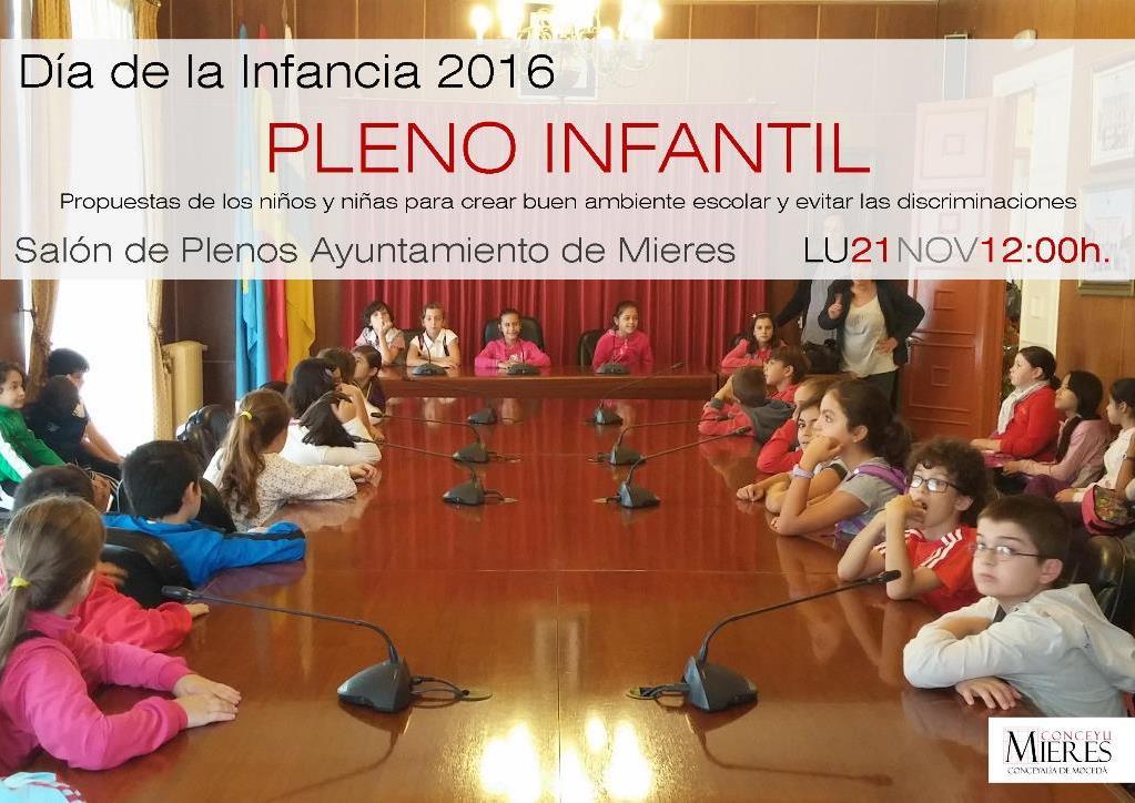Pleno Infantil 2016