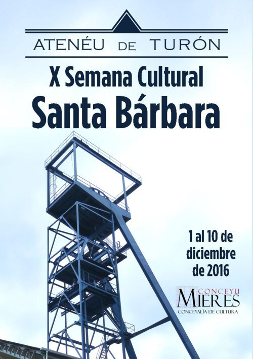 X Semana Cultural Santa Bárbara Turón