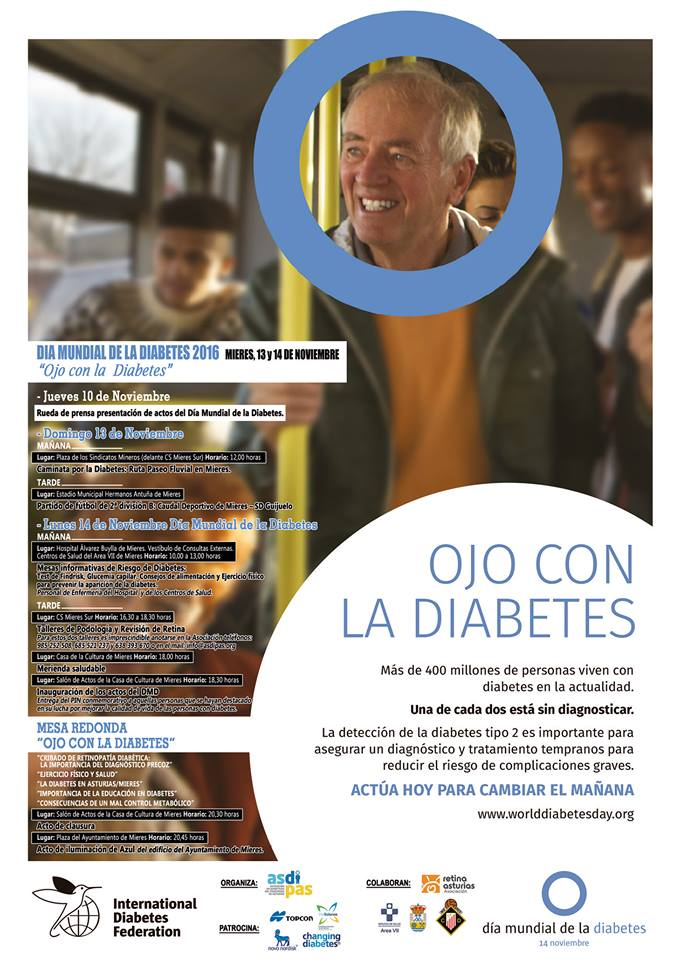 cartel dia de diabetes