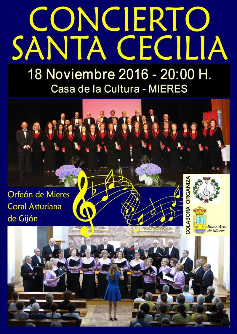 concierto santa cecilia 2016