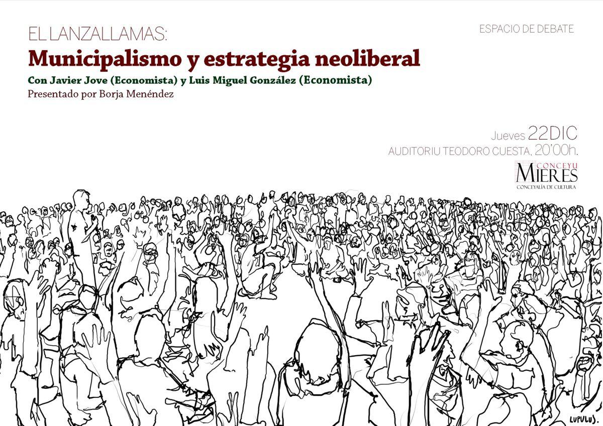 Cartel El Lanzallamas Municipalismo