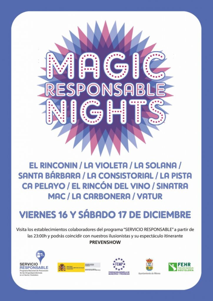 Cartel Magic Nights Mieres