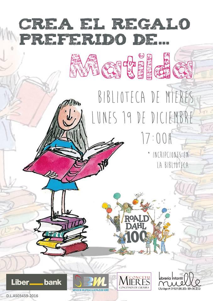 Crea regalo preferido de Matilda