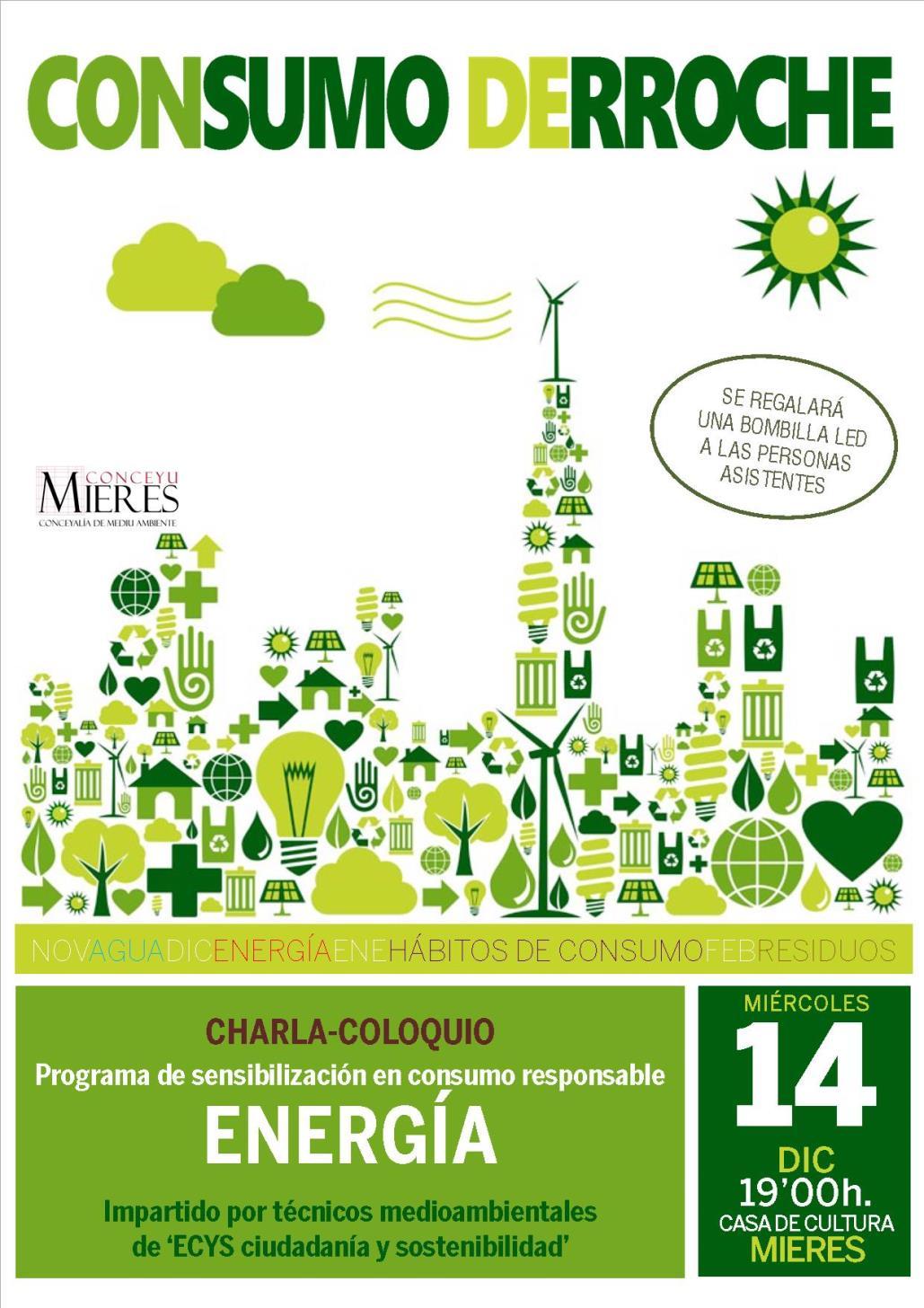cartel programa CONSUMO DERROCHE ENERGIA web