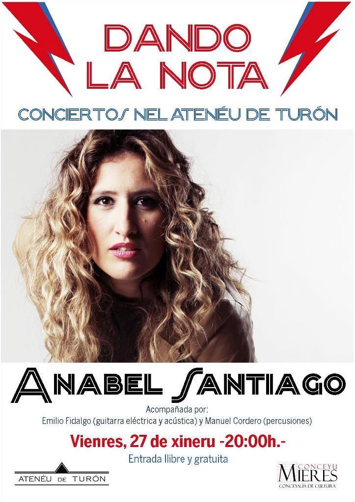 Cartel Concierto Anabel Santiago Ateneu Turon web