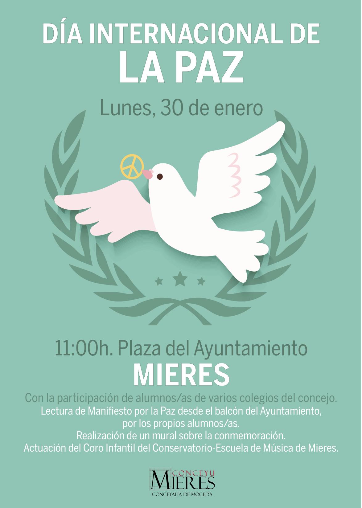 Cartel Día de la Paz 2017