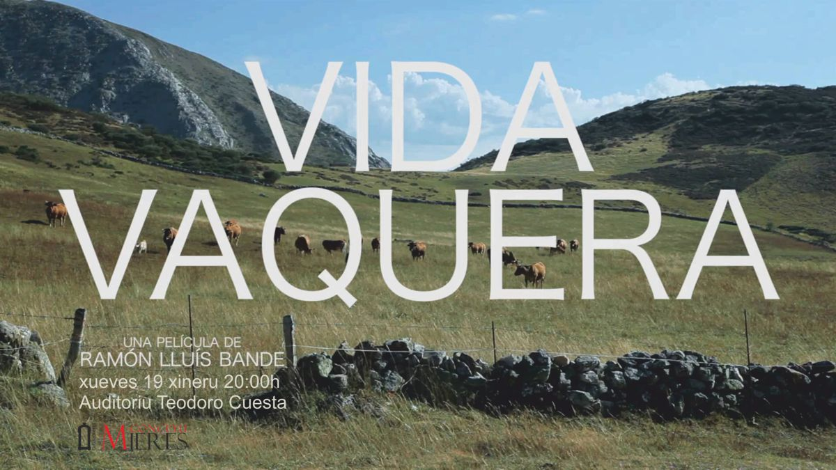 Cartel documental Mieres Vida vaquera web