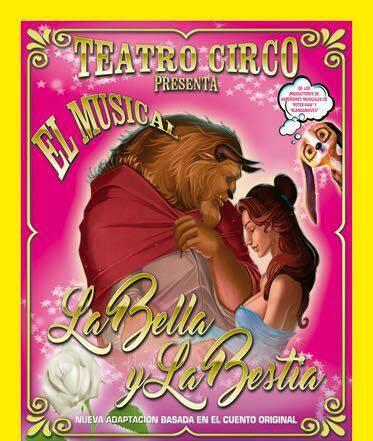 Teatro circo de los ninos Bella y la Bestia