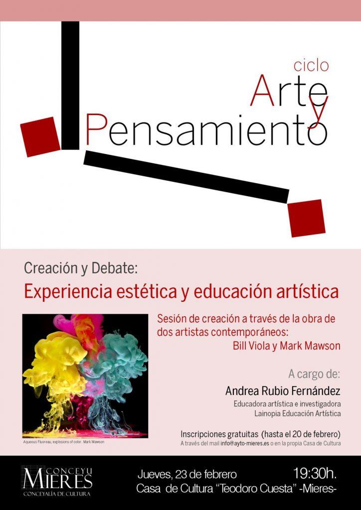 cartel ciclo Arte y Pensamiento 23FEB web