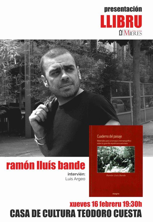cartel presentacion libro ramon lluis