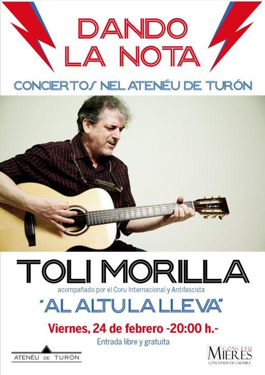 Cartel Concierto TOLI MORILLA web