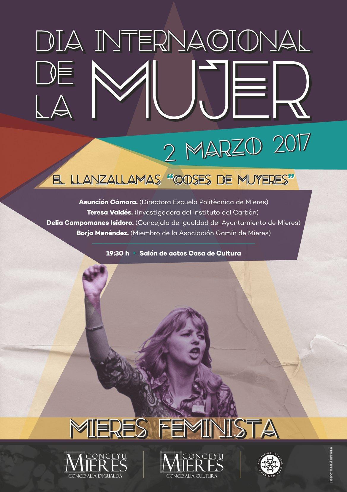 Dia Internacional de la mujer 2017_ El lanzallamas