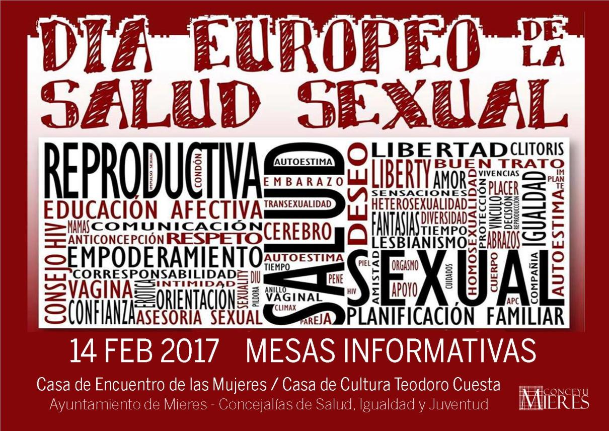 cartel día europeo salud sexual 2016