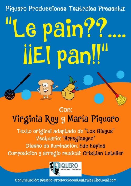 cartel teatro infantil Piquero Producc