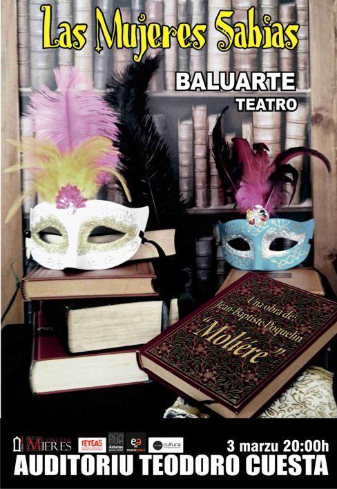 las mujeres sabias_teatro baluarte_Mieres