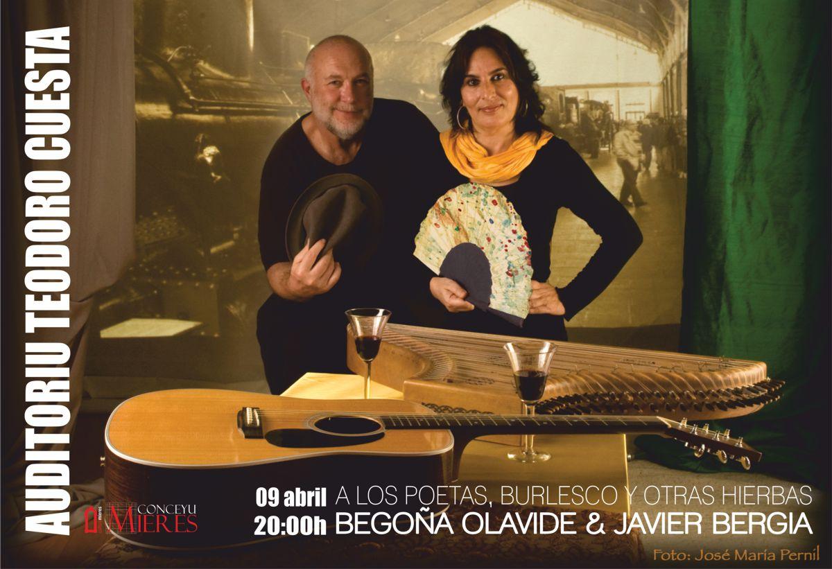 Cartel Javier Bergia-Olavide Mieres
