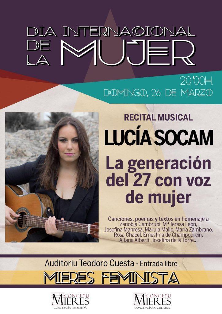 Cartel Recital Lucia Socam web