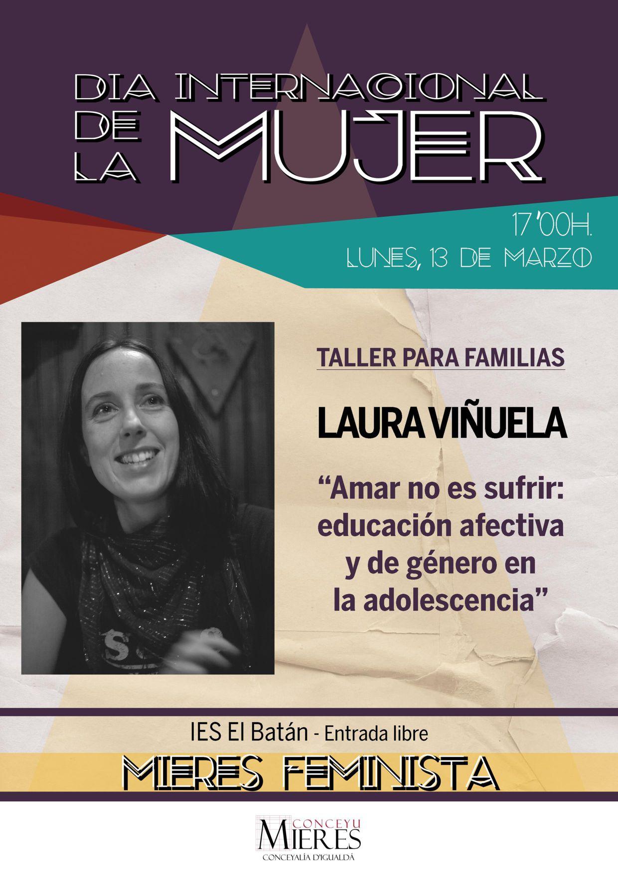 Cartel Taller Laura Viñuela WEB