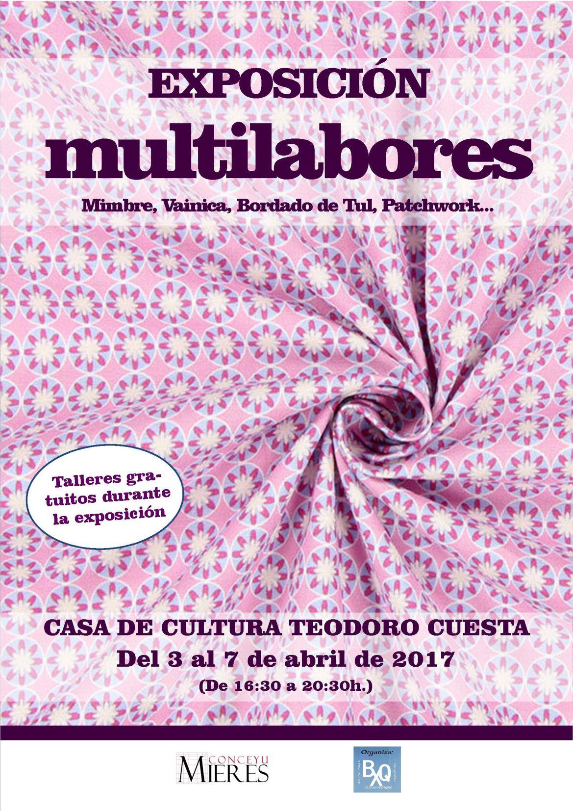 Cartel WEB exposicion multilabores abril 2017