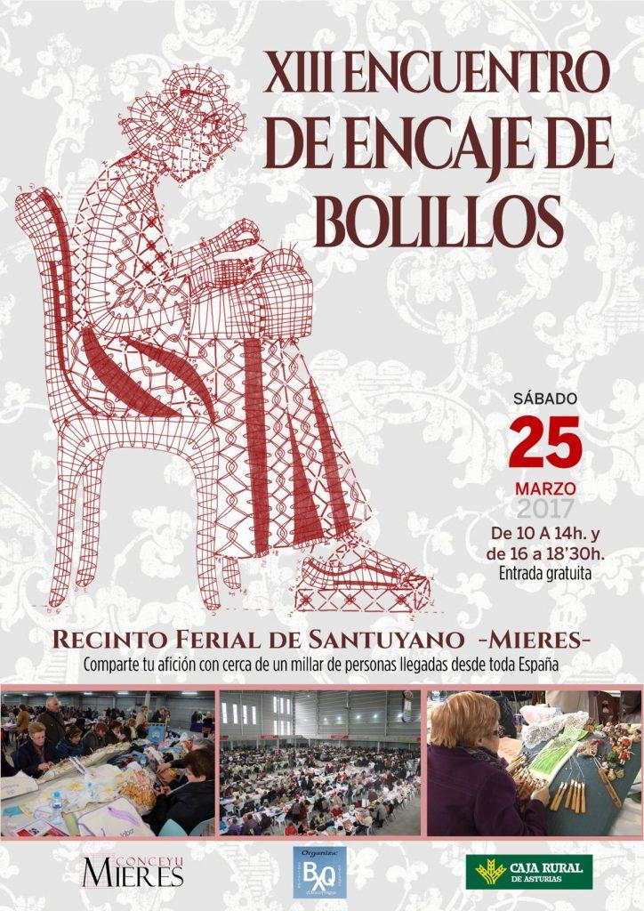 Cartel XIII Encuentro de Encaje de Bolilllos web
