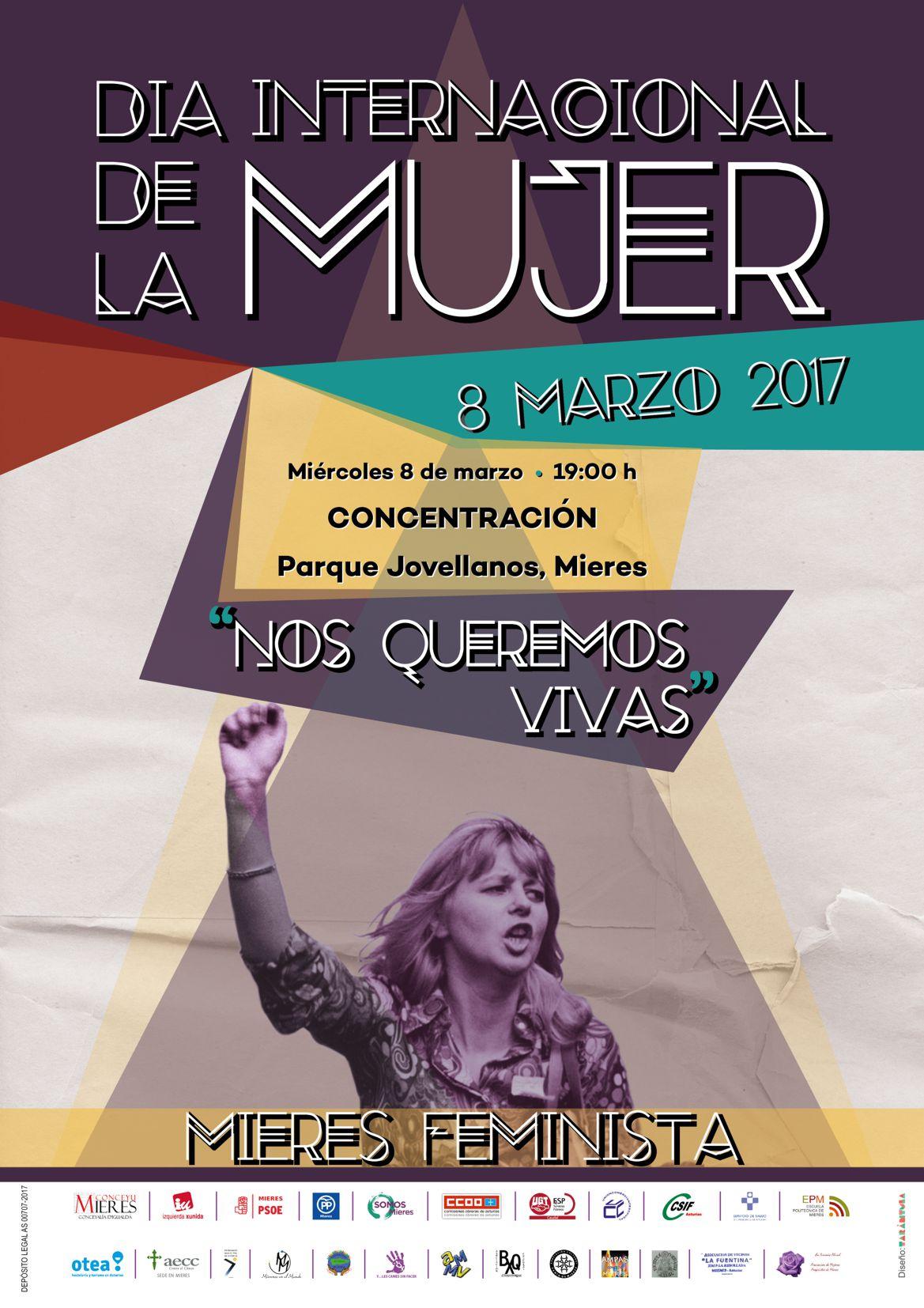 Dia Internacional de la mujer 2017_ concentración web