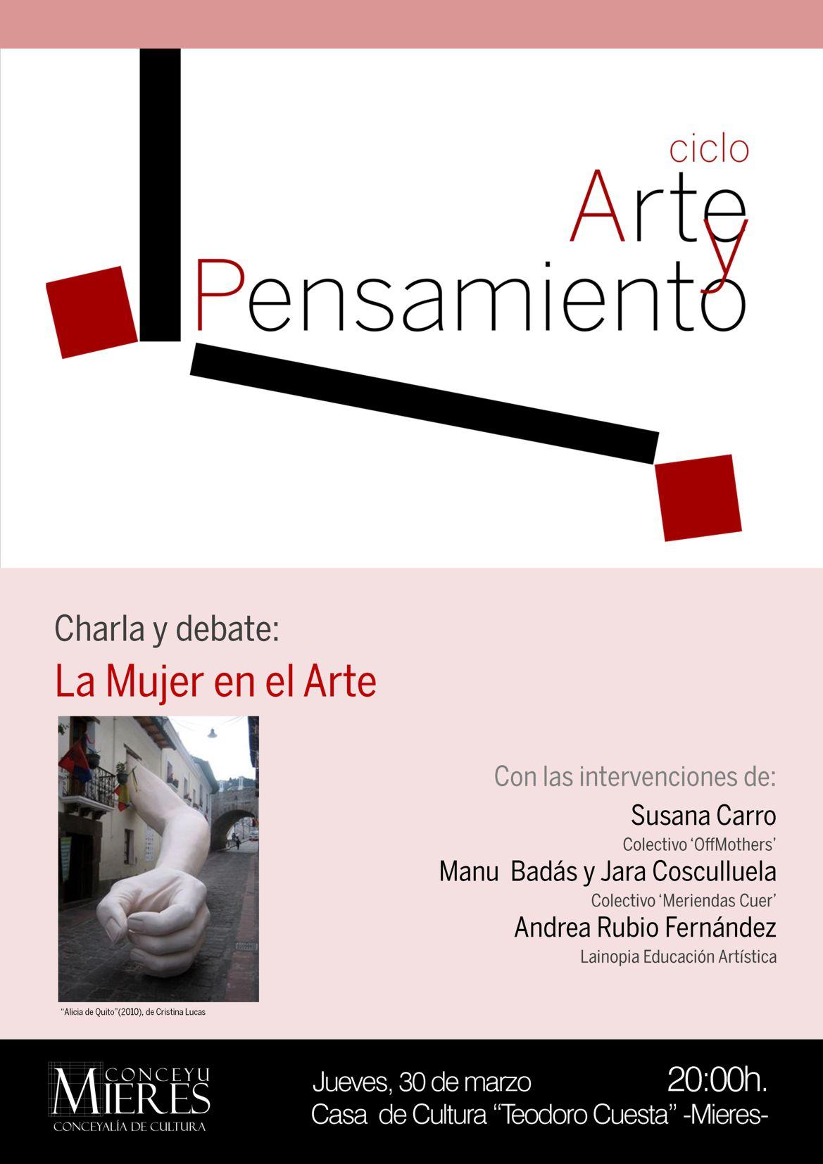 cartel ciclo Arte y Pensamiento 30MAR2017 web