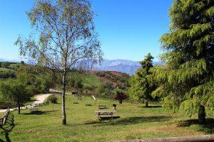 Área recreativa La Teyerona vistas desde arriba.